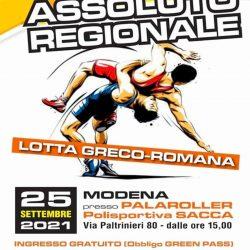 Locandina regionali 2021 Lotta