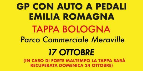 GP con auto a pedali Emilia Romagna